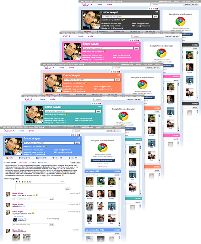 Convites do Novo Orkut 2010