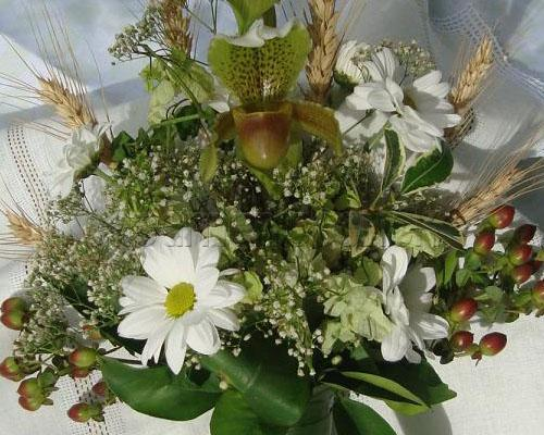 Decoração de Arranjo de Flores Para Casamento