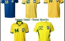 Promoção Camisetas Da Copa Guaraná Antarctica