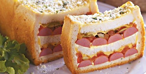 Torta De Sanduiche