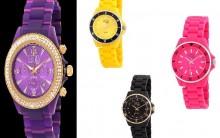 Relógios Coloridos A Tendência Para 2010