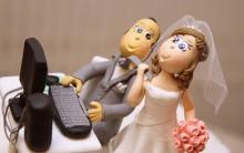 Enfeite De Bolo de Casamento Engraçados
