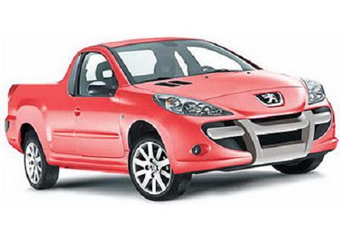 Novo Peugeot 207 Pick-Up