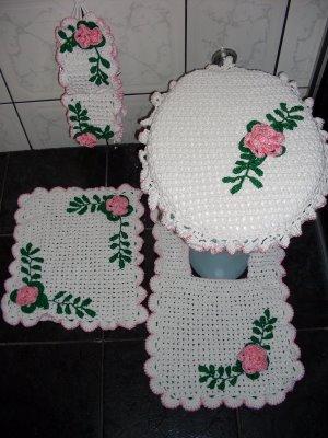 Tapetes De Barbante Para Banheiros