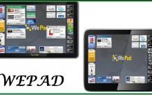 WEPAD Lançamento e Concorrente Do IPAD