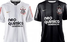 Fotos do Novo Uniforme do Corinthians
