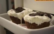 Cupcake de Sorvete Com Nutella
