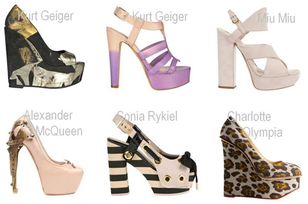 Nova Moda Dos Sapatos 2011
