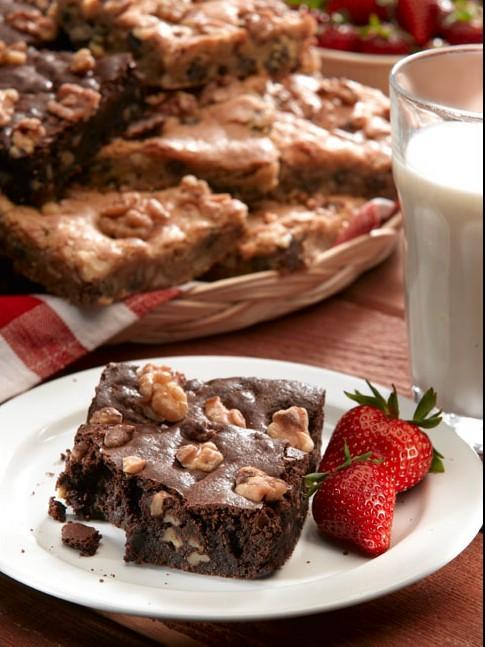 Receita Brownie Americano