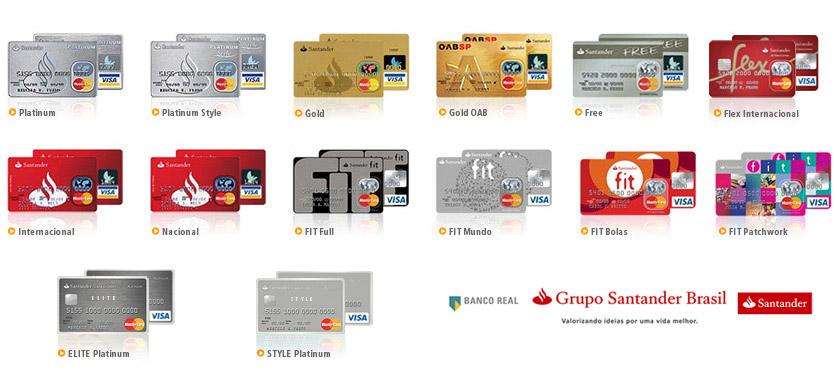 Cartão de Credito Santander Como Solicitar