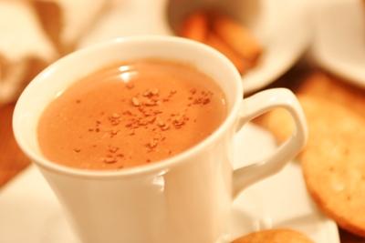 Fique Quentinho com Chocolate Quente
