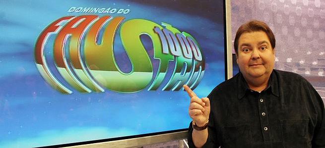Programa Domingão Do Faustão Na TV Globo