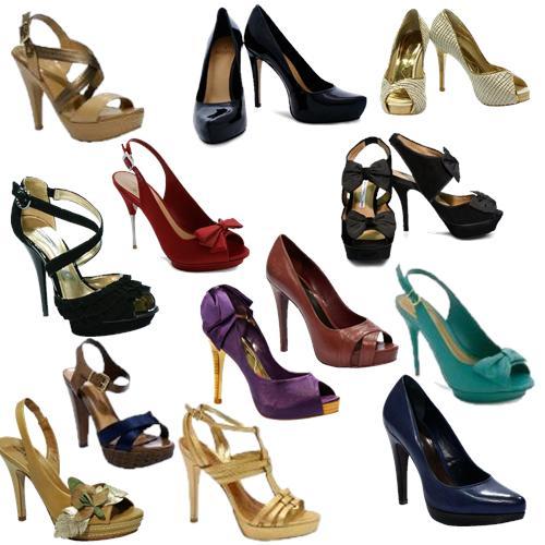 Moda De Sandálias E Sapatos Meia Pata