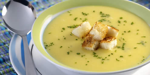 Sopa De Mandioquinha Para O Inverno