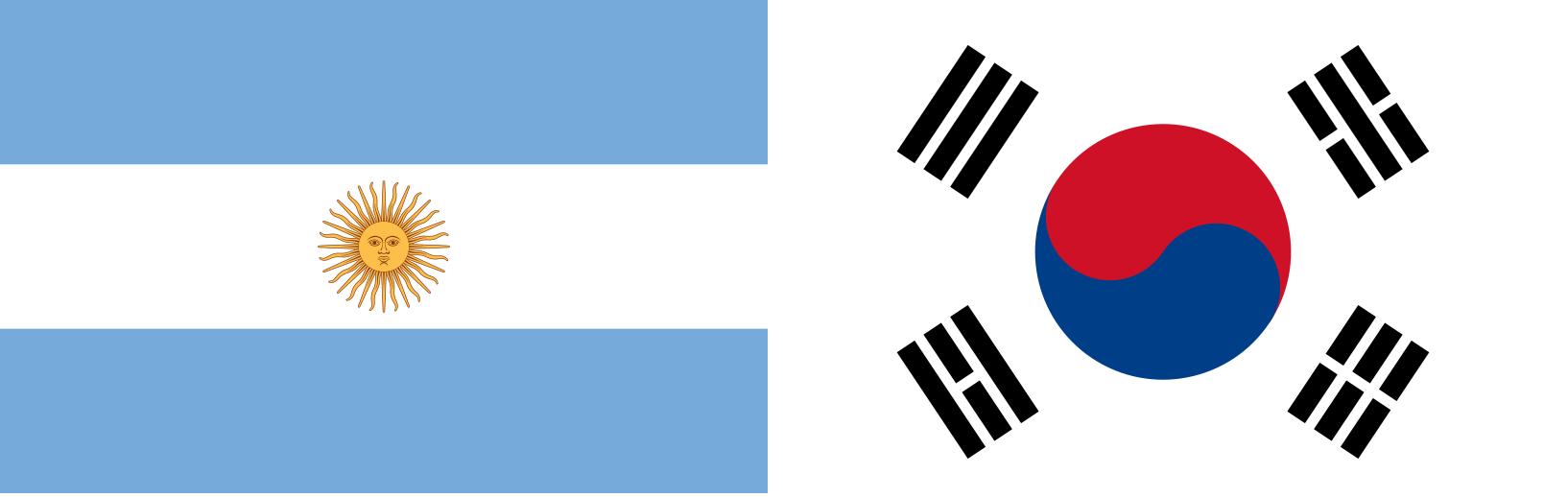 Argentina e Coréia do Sul Ao Vivo – Copa do Mundo 2010