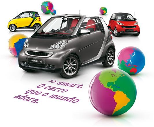 Faça Um test drive e Concorra Um Smart Brazilian