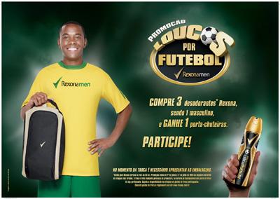Promoção Loucos Por Futebol – Rexona Men Sportfan