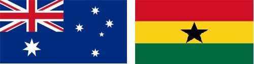 Gana e Austrália Ao Vivo – Copa do Mundo 2010
