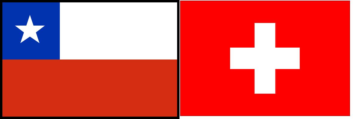 Chile e Suíça – Copa do Mundo 2010