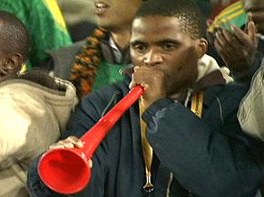Cornetas Zuzuzelas na Copa 2010