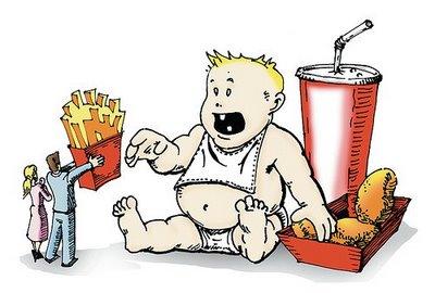 Os Erros Cometidos Pelos os Pais na Hora de Alimentar os Filhos