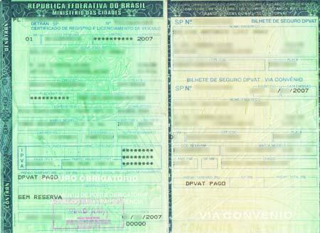 Licenciamento de Veículos SP 2011