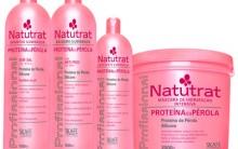 Dica-aplicação da Linha Natutrat Proteína da Pérola