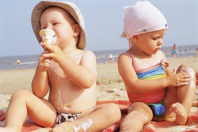 Cuidados Com a Exposição Solar na Infância-Dica