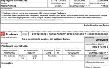 2ª Via De Boleto Bancário – Banco Do Bradesco