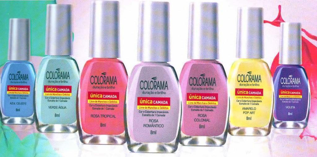 Coleção Aquarela – Colorama Verão 2011