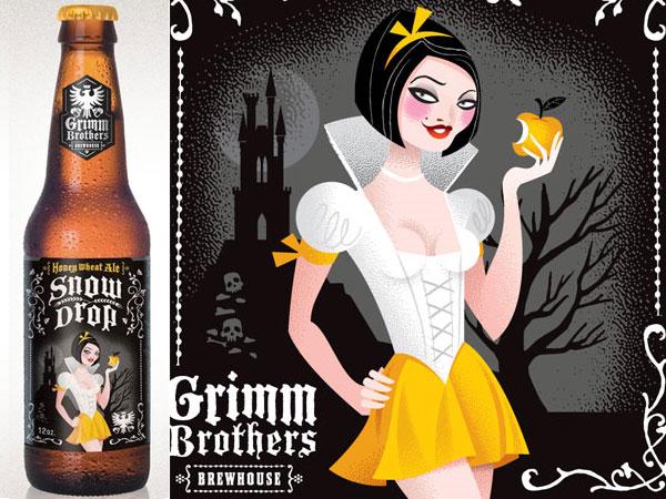 Grimm Brothers Brewhouse – Embalagens De Contos De Fada