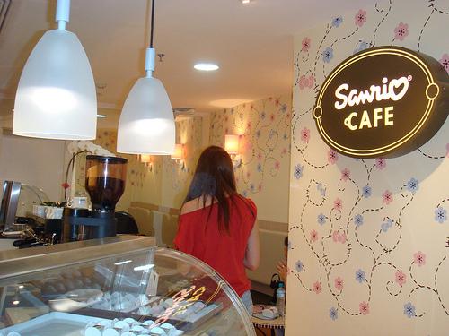 Conheça O Café Hello Kitty