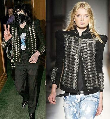 Moda Jaqueta De Michael Jackson