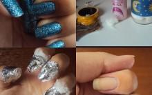 Como Remover Esmalte Glitter Com Facilidade