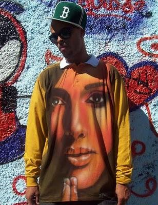 Roupas Com Grafite