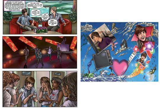 Justin Bieber Em Quadrinhos