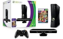 Novo videogame Kinect Xbox 360 Arcade da Microsoft