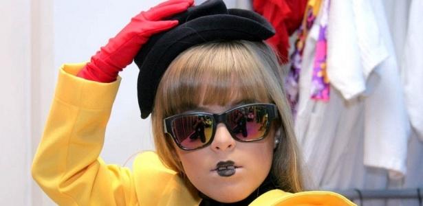 Mini Lady Gaga Brasileira