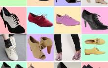 Moda Antiga De Sapatos Oxford