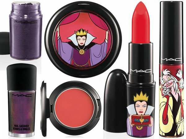 Linha De Maquiagem De Vilãs Disney Da MAC