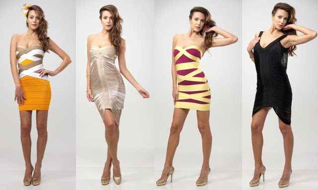 Moda De Vestido Bandage Dress