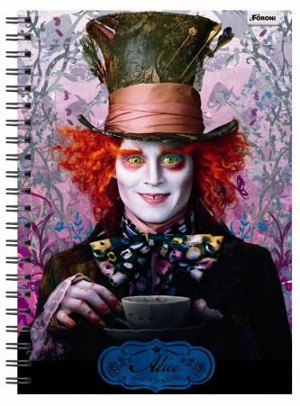 Coleção De Cadernos Da Alice No País Das Maravilhas