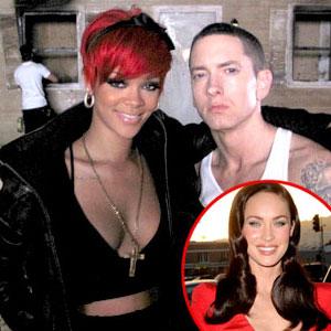 Eminem Lança novo Clip Com Rihanna E Megan Fox