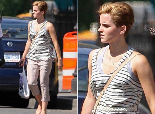 Novo Look De Emma Watson