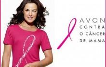 Laço Rosa Contra O Câncer – Camisetas – Campanha Avon