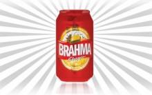 Nova Lata Da Cerveja Brahma – Vermelha
