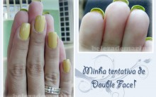 Nova Moda De Unhas Double Face