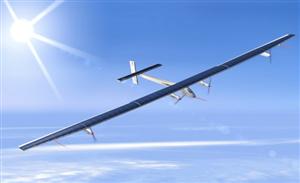 Novo Avião Movido A Energia Solar