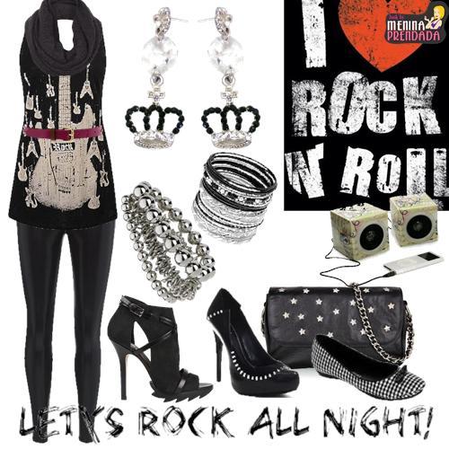 Moda Rocker Para O Inverno E Verão