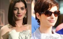 Novo Cabelo De Anne Hathaway